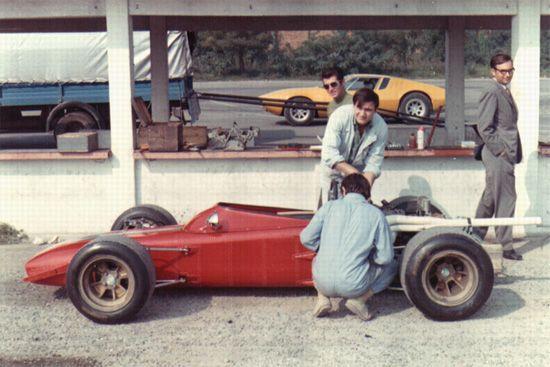 Tipo 103, the Dallara test car for the De Tomaso 505